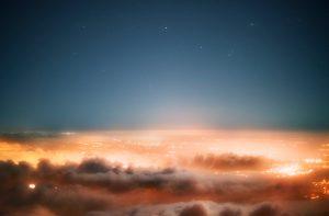 Title: Der Himmel über Jerusalem #2 2014 75x110cm inkjet print, framed