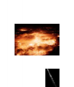 Title: Der Himmel über Jerusalem #3 2014 60x70cm inkjet print, framed