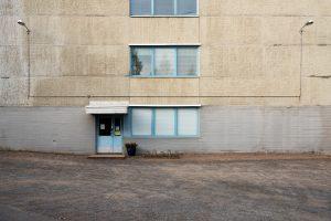 (untitled) Wall&Door201445x30cmInkjet print, Framed