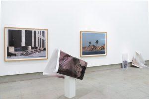 Landscape With an Oval Cloud 2018 110x124x50cm, Inkjet print